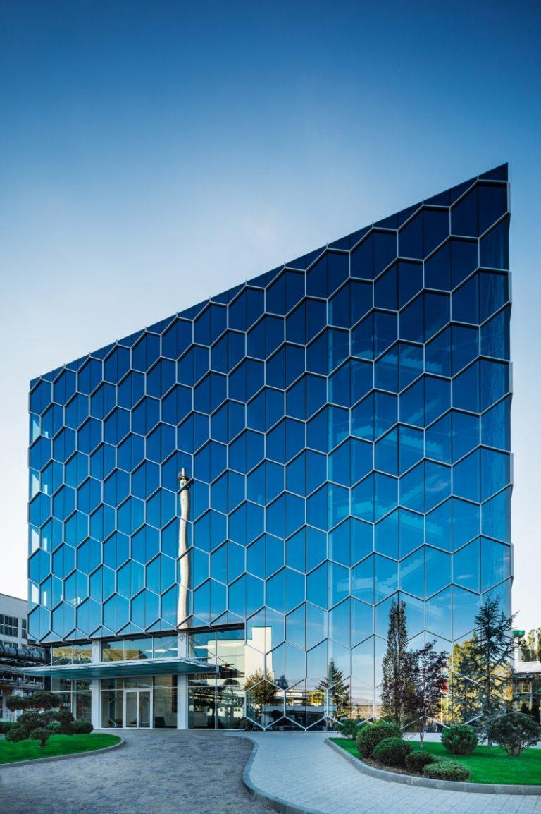 Corporate building Biovet Peshtera